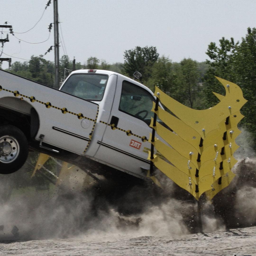 Hostile Vehicle Mitigation - The Raptor test 01