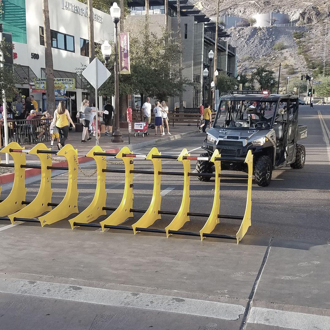 Hostile Vehicle Mitigation - The Raptor on the street