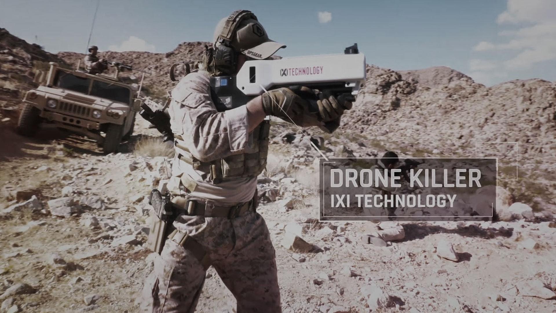 ixi technology dronekiller anti-drone