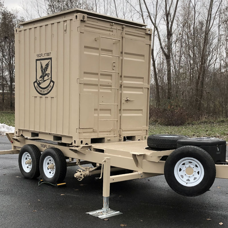 Tactical Field Observation System - on trailer